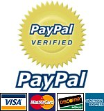 PayPal make fast, easy, and secure payments for your purchases!