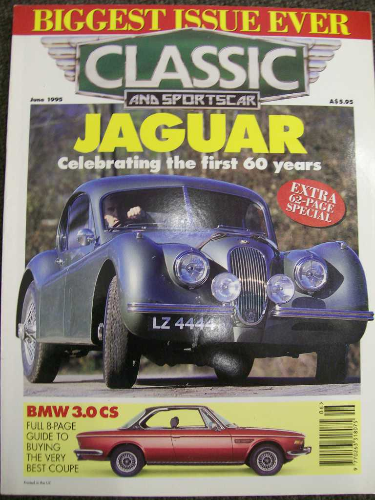 CSC 1995/06 BMW 3.0 CS COUPE BUYERS GUIDE MAGAZINE
