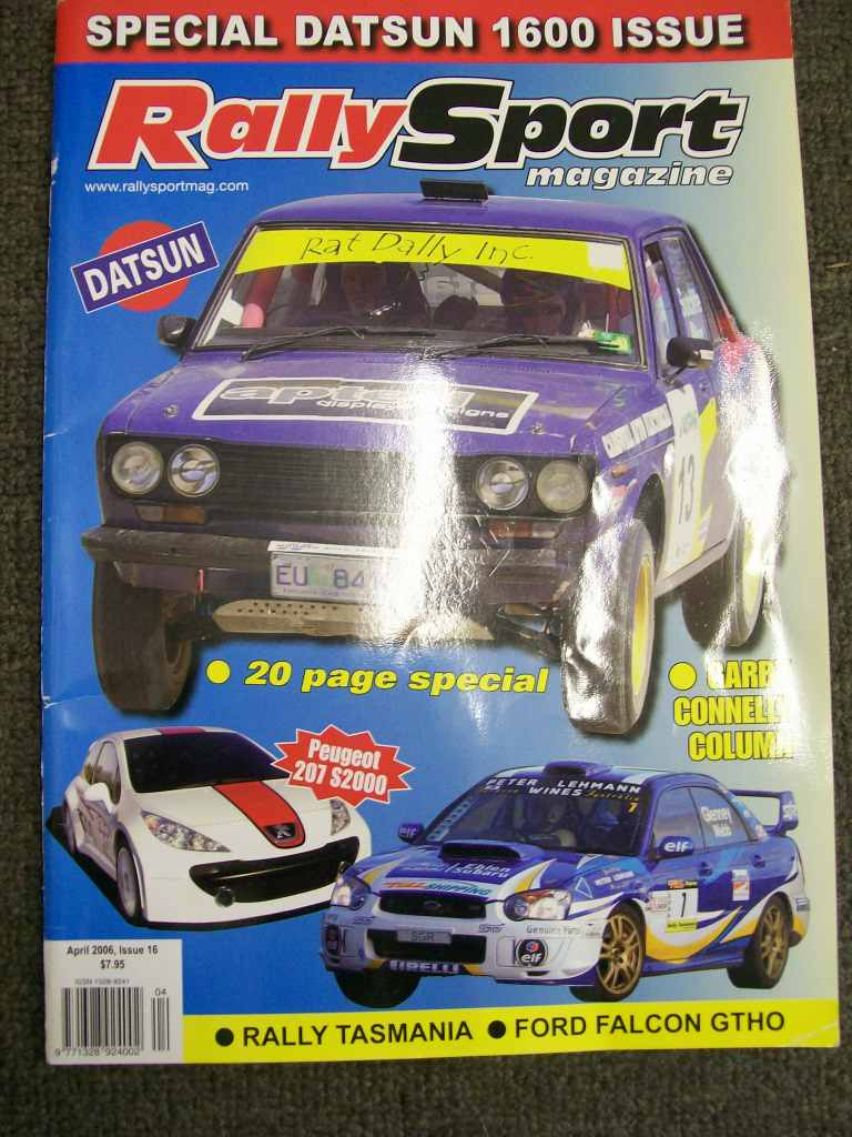 RALLYSPORT DATSUN 510 1600 SPECIAL ISSUE CORTINA MK1