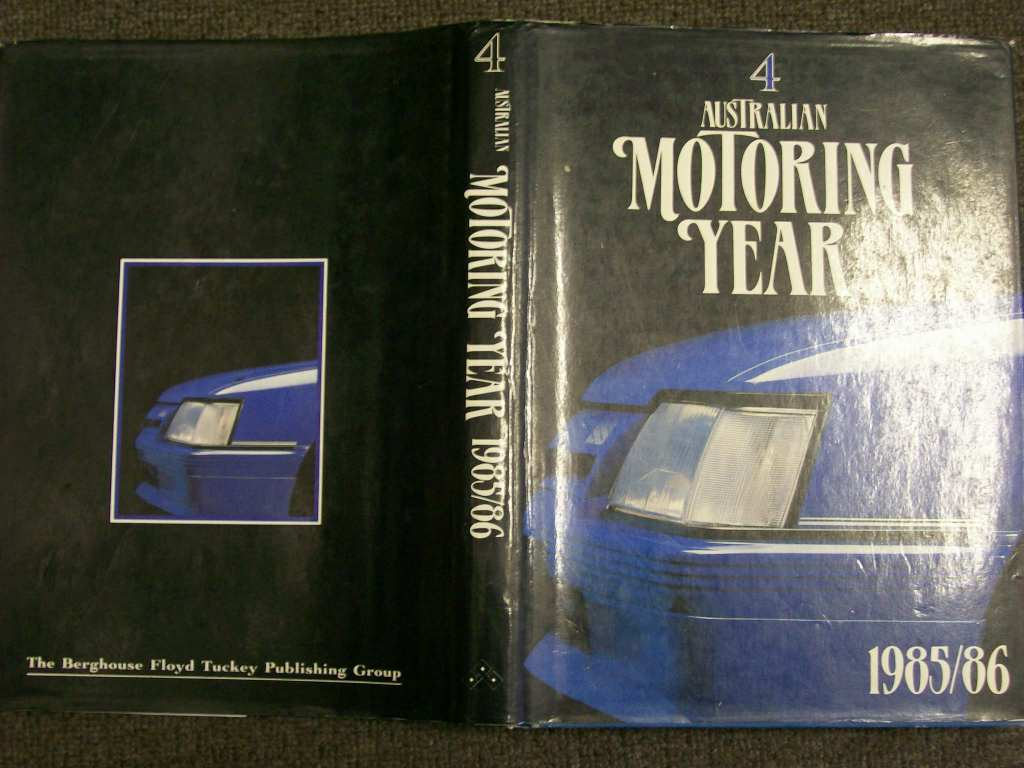 AUS MOTORING YEAR 1985 COMMODORE VK GROUP A SS BIG FEATURE