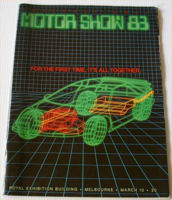 MELBOURNE 1983 MOTOR SHOW CATALOGUE
