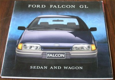 EA FORD FALCON 1988 EA GL SALES BROCHURE
