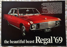 VALIANT 1969 VF regal SALES BROCHURE