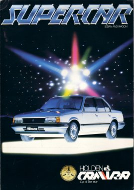 HOLDEN CAMIRA 1983 JB sedan wagon folder SALES BROCHURE