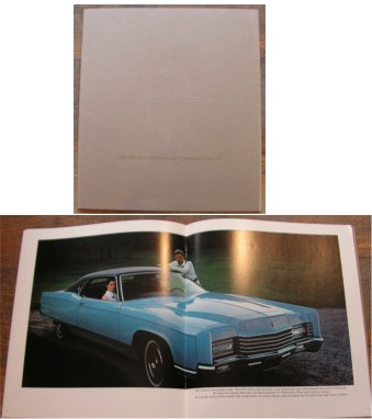 LINCOLN CONTINENTAL 1970 MK III SALES BROCHURE