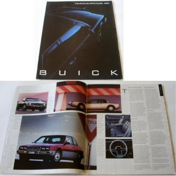 BUICK 1987 BUYERS GUIDE RIVIERA  ELECTRA PARK AVEN  - Click Image to Close