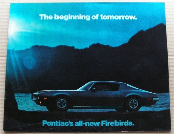 PONTIAC FIREBIRD 1970 BROCHURE TRANS AM