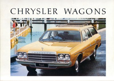 CHRYSLER VALIANT 1977 1978 CL WAGONS SALES BROCHURE