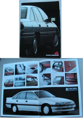 HOLDEN COMMODORE 1989 VN SALES BROCHURE