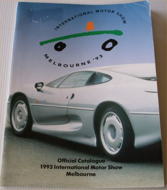 MELBOURNE 1993 MOTOR SHOW CATALOGUE