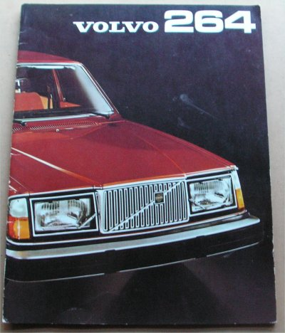 VOLVO 264 1975 SALES BROCHURE