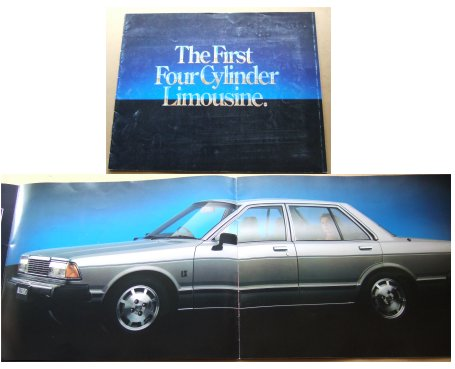 NISSAN BLUEBIRD 1981 SALES BROCHURE