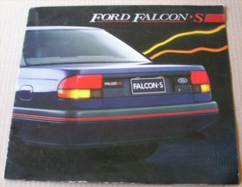 EA FORD FALCON 1988 1989 EA S SALES BROCHURE