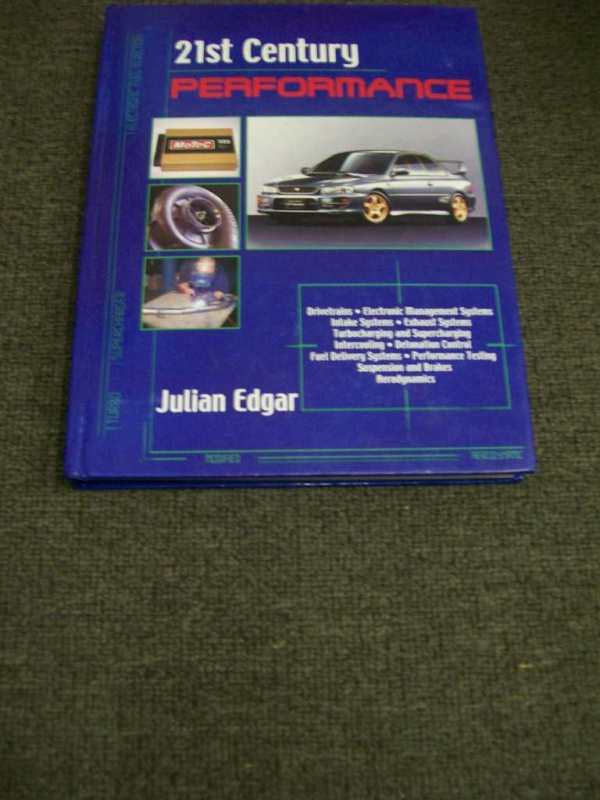 TWENTY FIRST CENTURY PERFORMANCE RARE BOOK BY  J EDGAR