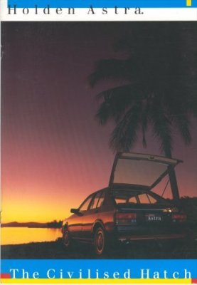 HOLDEN ASTRA 1985 SALES BROCHURE