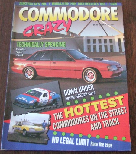 COMMODORE CRAZY MAGAZINE HDT HSV