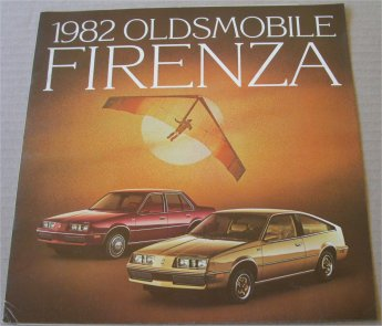OLDSMOBILE 1982 FIRENZA SALES BROCHURE