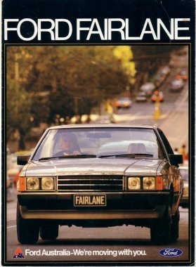 FAIRLANE 1981 ZJ XD 302 351 250  SALES BROCHURE