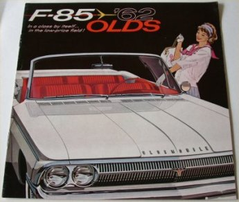 OLDSMOBILE 1962 F85 CUTLASS SALES BROCHURE