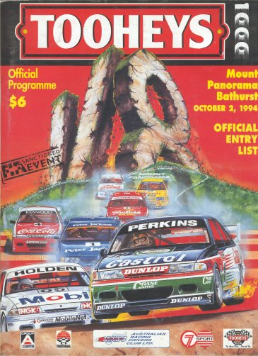 BATHURST 1994 OFFICIAL PROGRAMME