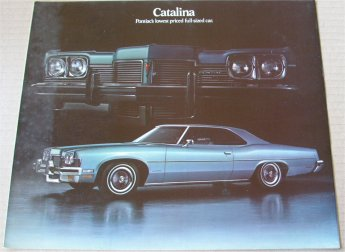 PONTIAC 1973 CATALINA BROCHURE