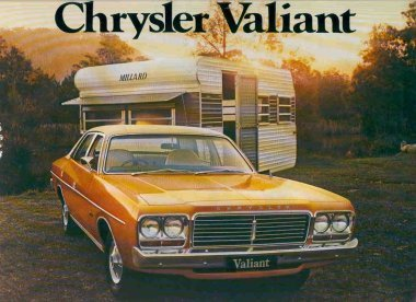 VALIANT 1977-1978 CL SEDAN SALES BROCHURE