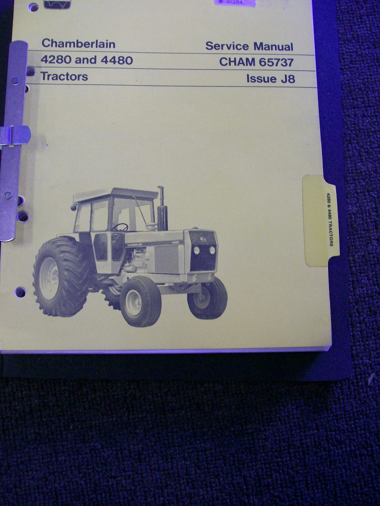 CHAMBERLAIN 4280 4480 TRACTOR ORIGINAL SERVICE REPAIR MANUAL