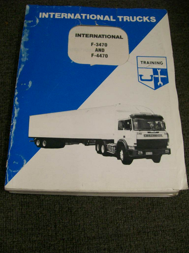INTERNATIONAL HARVESTER F 3470 4470 TRUCK SERVICE REPAIR MANUAL