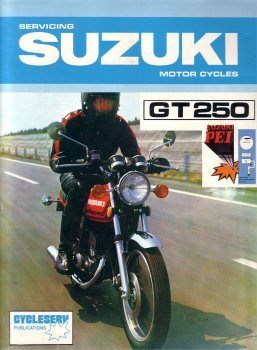 SUZUKI GT250 1979 issued SERVICE MANUAL