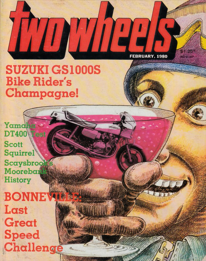TWO WHEELS MAGAZINE 1980/02