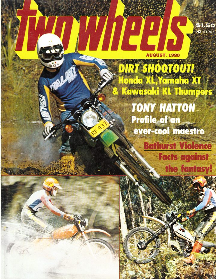 TWO WHEELS MAGAZINE 1980/08
