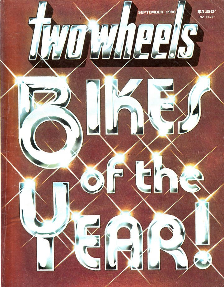 TWO WHEELS MAGAZINE 1980/09