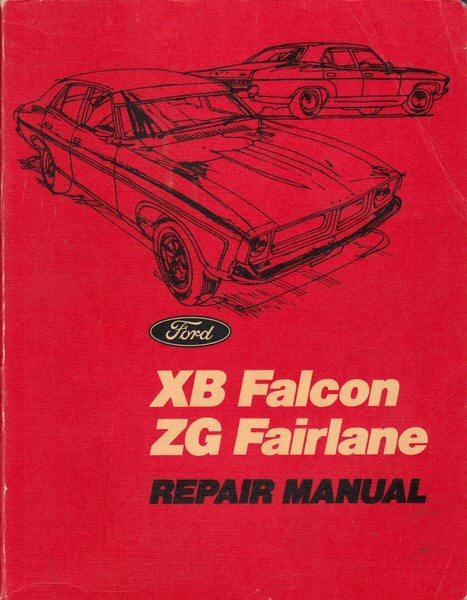 falcon xb gt gs fairlane zg 250 302 351 repair workshop manual rh motorbookworld com Falcon Ute 1976 Ford Falcon