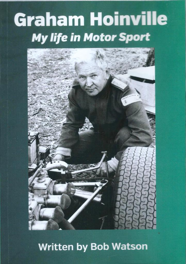 graham hoinville my life in motor sport biography by bob watson