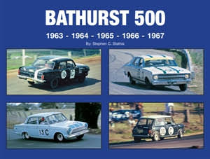 now in stock Bathurst 500 1963 1964 1965 1966 1967 history HBACK