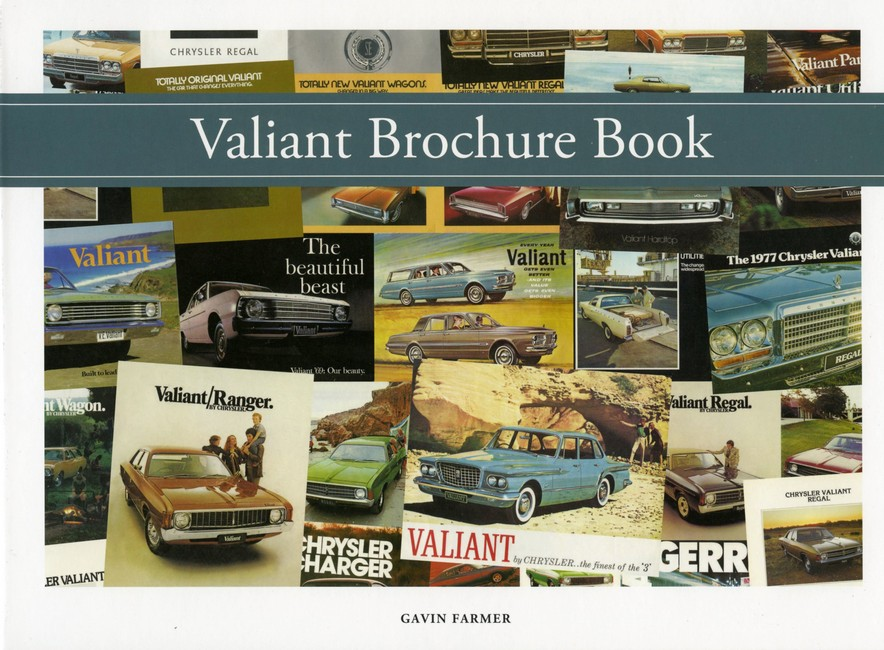 VALIANT AUSTRALIAN BROCHURE BOOK 1962 TO 1981  - Click Image to Close