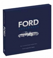 FORD AUSTRALIA CARS & PEOPLE HISTORY IN SLIPCASE