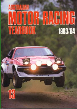 AUSTRALIAN MOTOR RACING YEARBOOK 1983 1984 #13