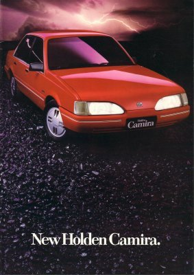 HOLDEN CAMIRA 1984 1985  JD SALES BROCHURE
