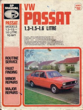 VOLKSWAGEN PASSAT 1974-77 REPAIR MANUAL
