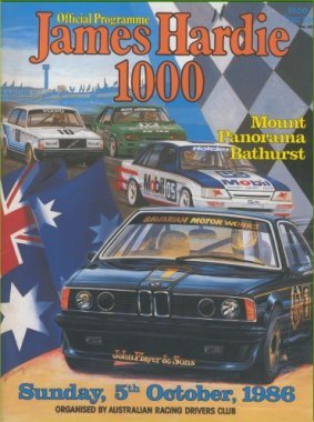 BATHURST 1986 OFFICIAL RACE PROGRAMME
