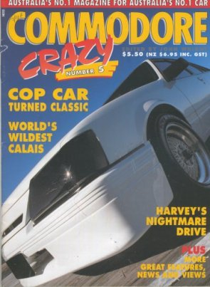 COMMODORE CRAZY #05 MAGAZINE HDT HSV