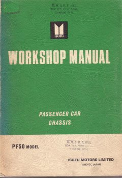 HOLDEN GEMINI 1975 -76 CHASSIS MANUAL