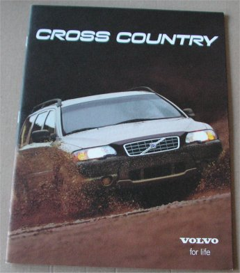 VOLVO 2000 CROSS COUNTRY SALES BROCHURE