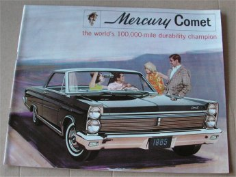 MERCURY COMET 1965 BROCHURE