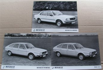 RENAULT 18 20 PRESS PHOTOS
