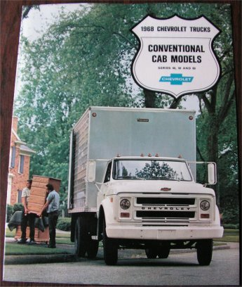 CHEVROLET 1968 TRUCK BROCHURE SERIES 40 50 60