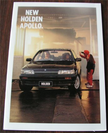 HOLDEN APOLLO 1991 SALES BROCHURE