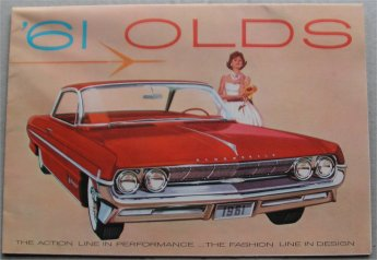 OLDSMOBILE 1961 SALES BROCHURE