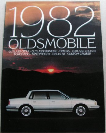 OLDSMOBILE 1982 TORONADO NINETY EIGHT DELTA 88